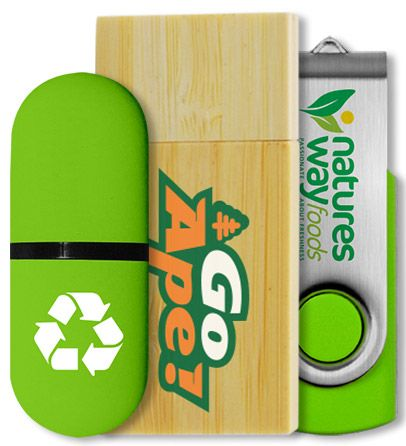 Eco Friendly USB Sticks
