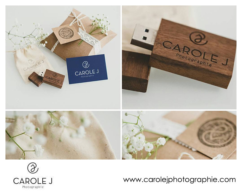 Carole J Photographie USB Packaging