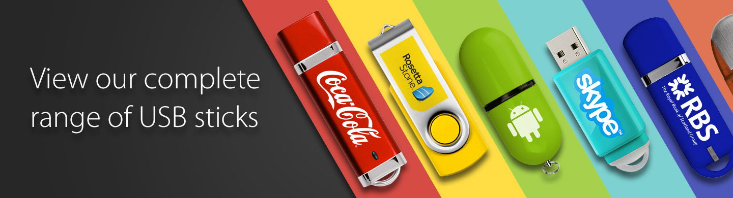 Branded USB Sticks Range