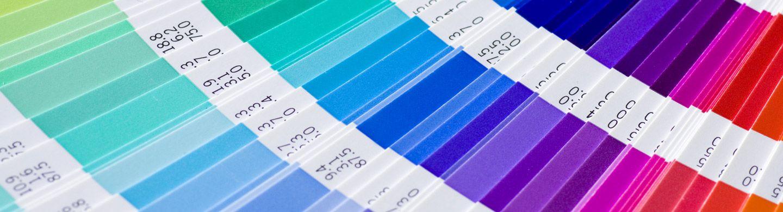 a pantone colour chart