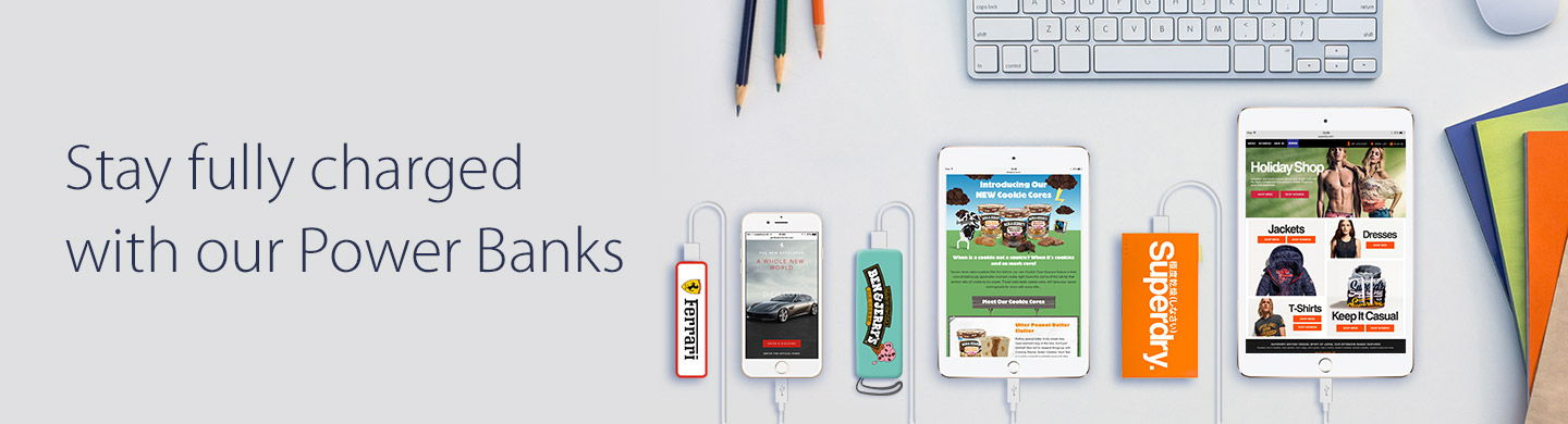 Promotional Power Banks for Mobile Devices