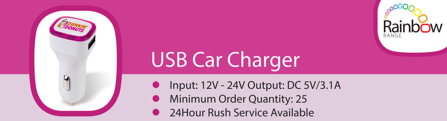 promotional USB Car Charger