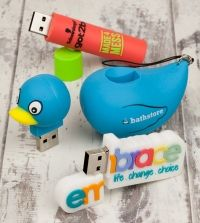 3 custom made USB sticks