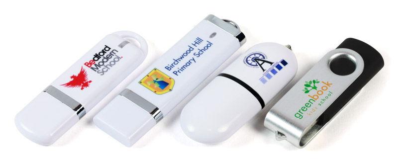 branded USB sticks for schools