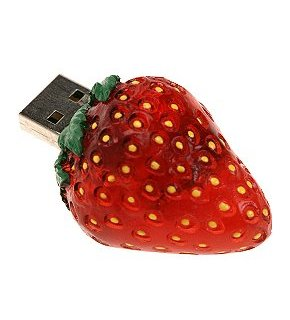 Strawberry USB Flash Drives
