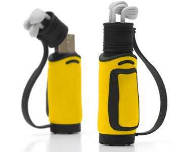 Golfbag USB Flash Drive