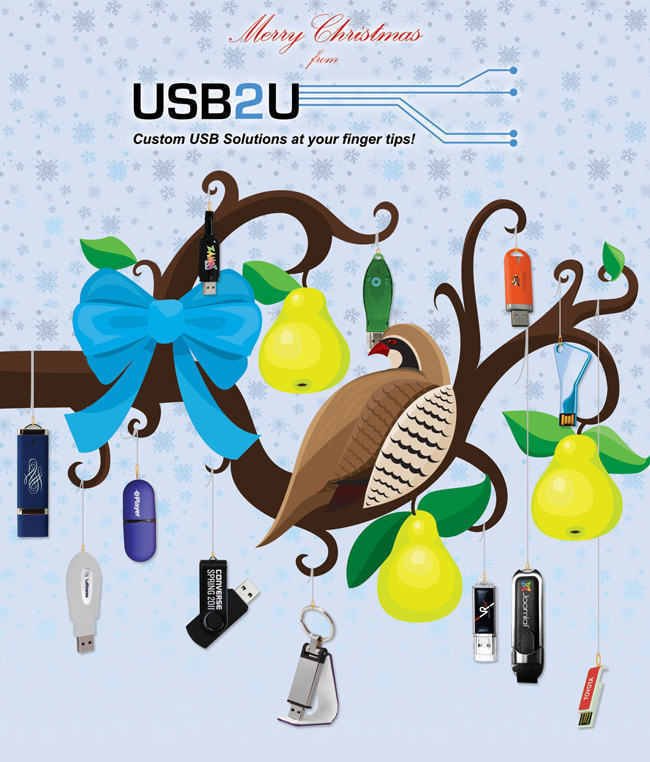 USB Partridge in a Pear Tree