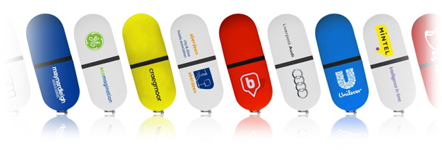 Printed USB Sticks