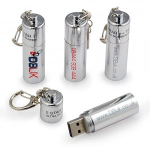 Battery USB Flash Drives