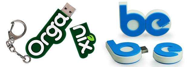 Custom USB Logos