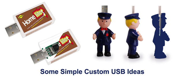 Simple Custom USB Ideas