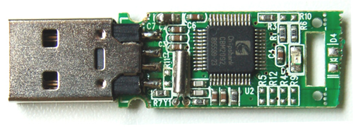USB Flash Drive Internal Component