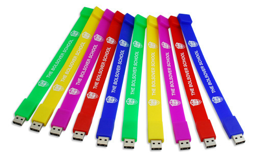 Examples of USB Wristbands