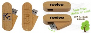 Wooden USB Twister