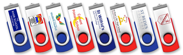 School USB Flash Drives