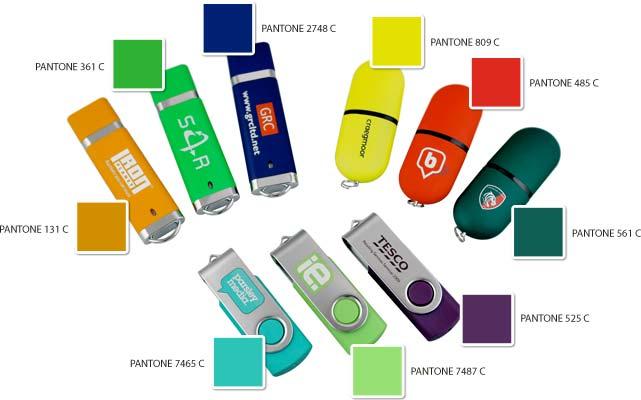 Colour Matched USB Flash Drives