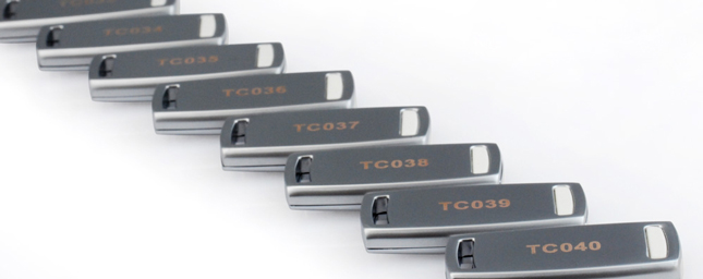 USB Memory Sticks with Serial Numbers