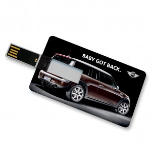 Mini branded usb card
