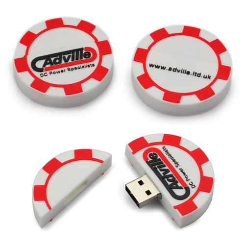 Custom USB Poker Chip