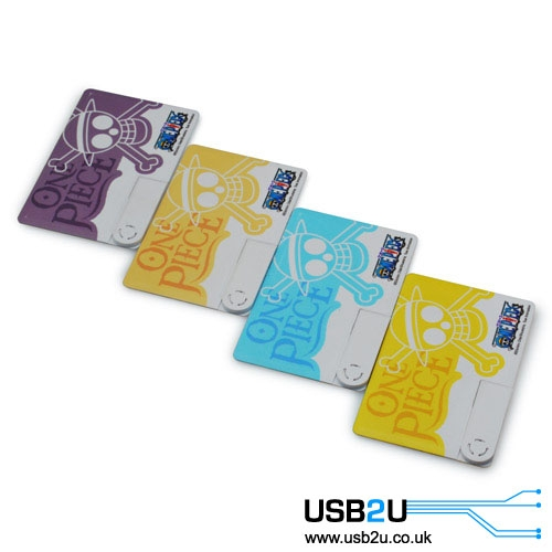 USB Credit Cards - Complex Print