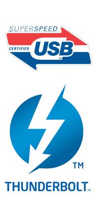 Thunderbolt vs. USB 3.0