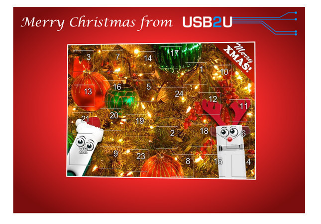 USB2U Advent Calendar
