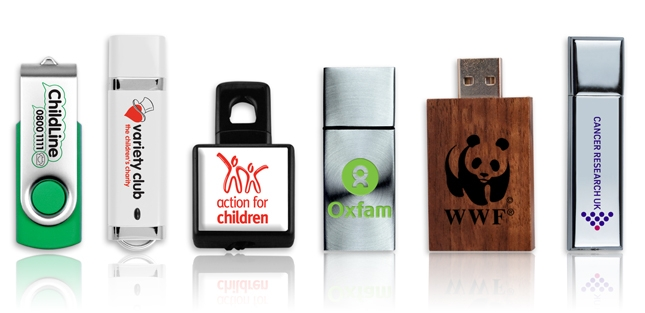 Fundraising with USB Memory Sticks