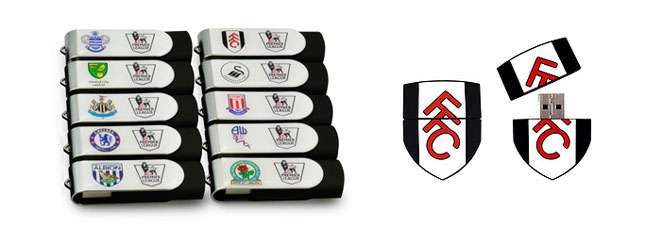 Football USB Memory Sticks