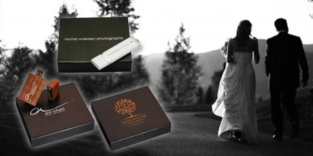 USB Flash Drives for Wedding Albums