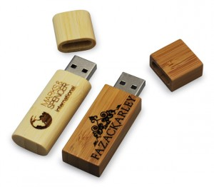 engraved wood USB flash drives