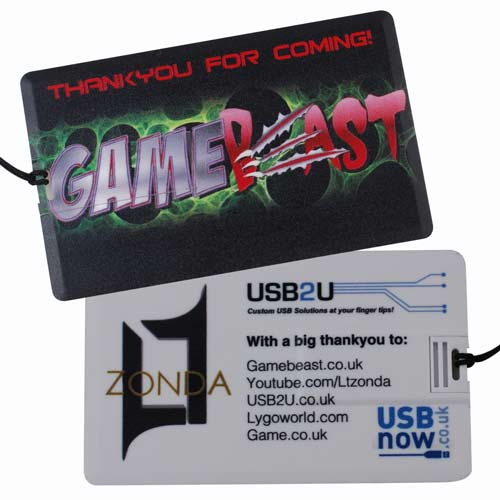 Gamebeast USB Credit Cards