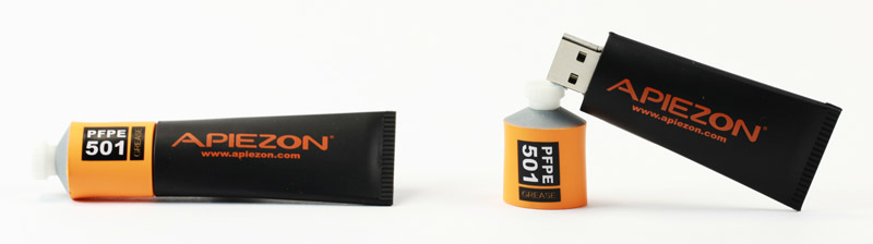 Custom USB Sticks - Black and Orange