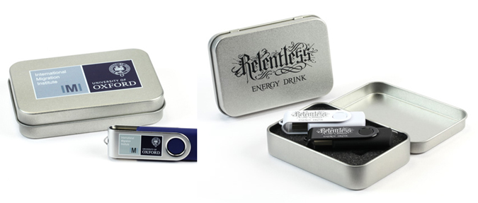 USB Memory Sticks - Presentation Tins