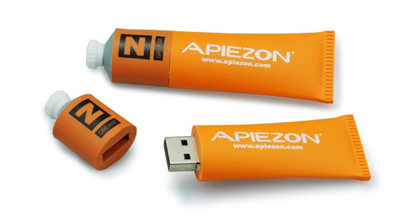 Custom USB Sticks - Orange Tube