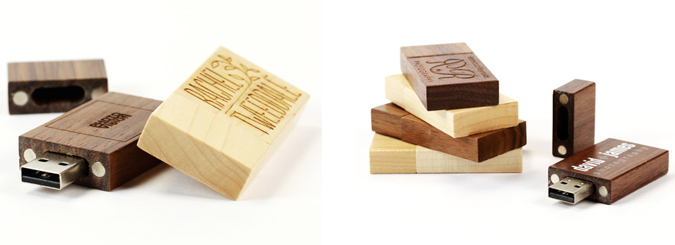 USB2U Wooden USB Memory Sticks