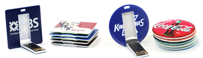 New USB Products for 2013 - Mini Flip Square and USB Button