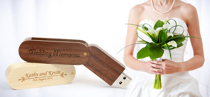 USB Wedding Favours