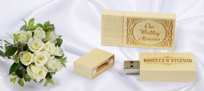 USB Memory Sticks Wedding Favours
