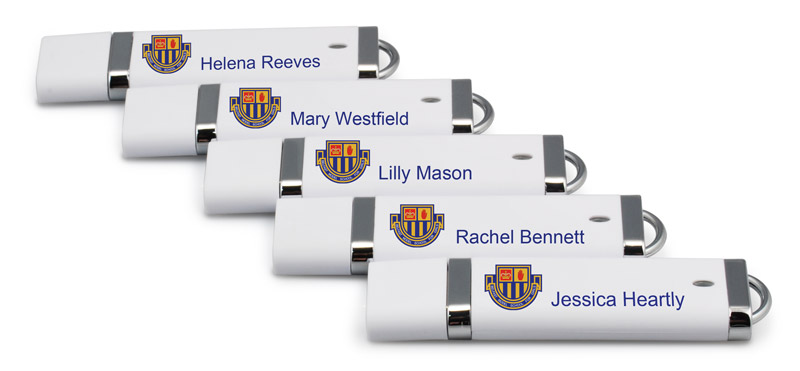 USB Memory Sticks with Names
