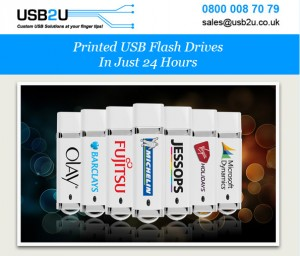 Printed USB Sticks in 24hrs