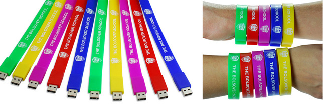 World Challenge Fund Raising With USB Wristbands