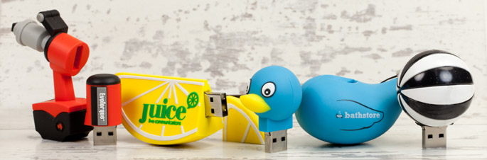 Custom USB Flash Drives from USB2U