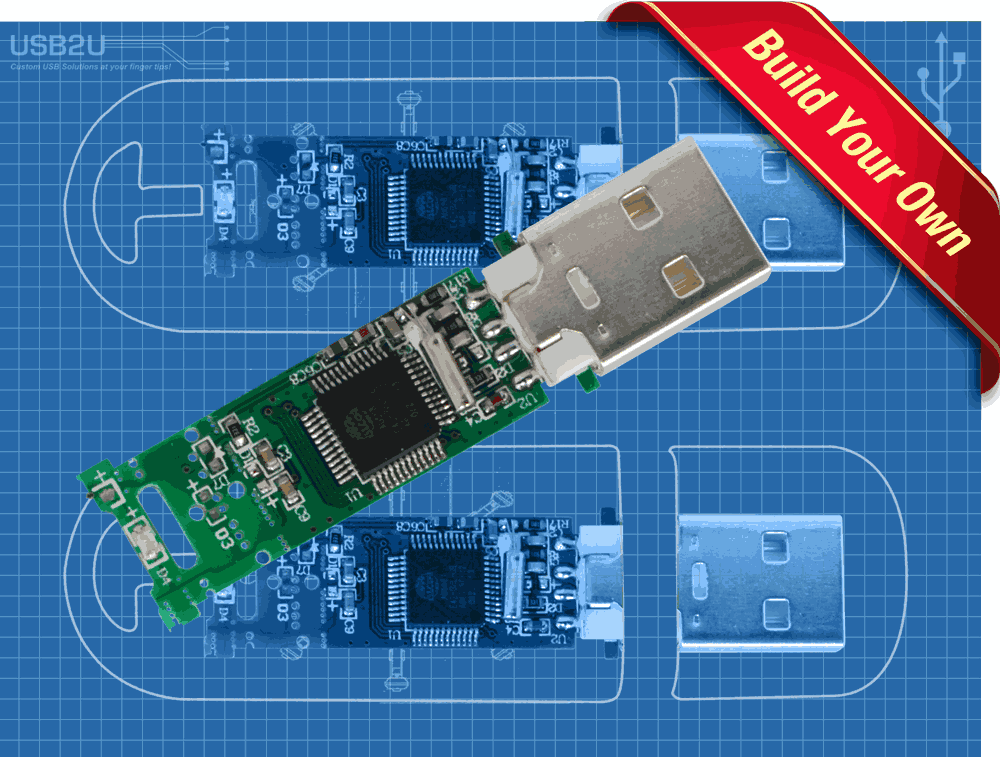 Build Your Own USB Memory Sticks