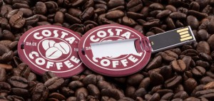 USB Circle Cards - Costa Coffee