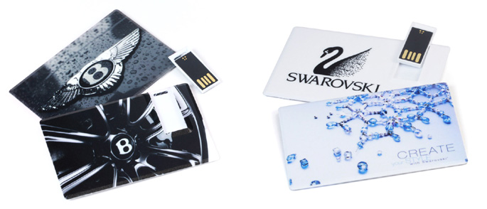 USB Flash Drive Cards from USB2U