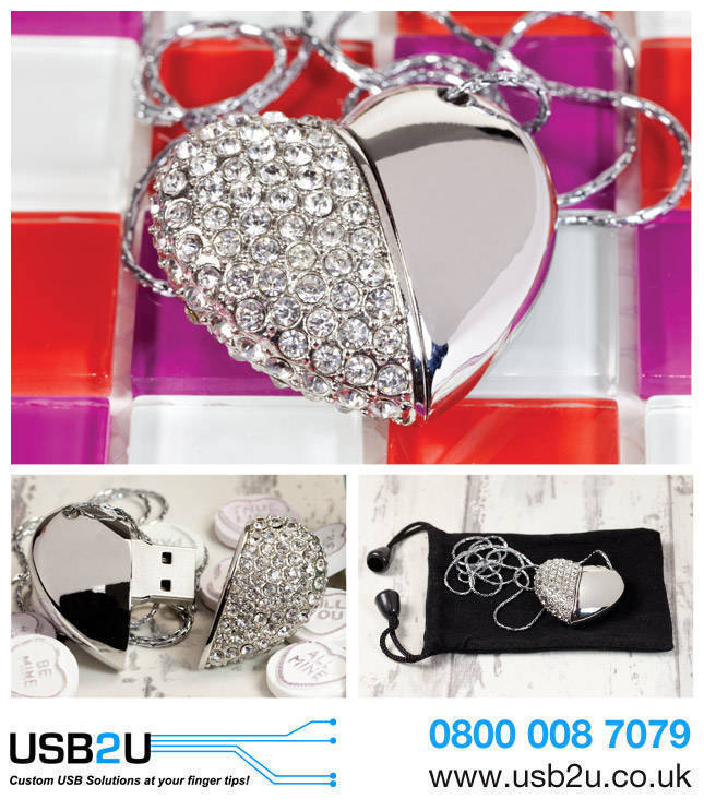 USB Hearts for Photographers