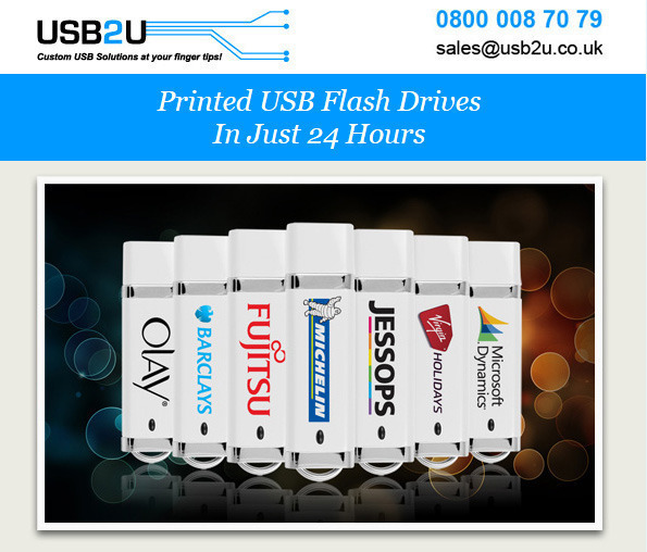 USB2U for Promotional USB Flash Drives