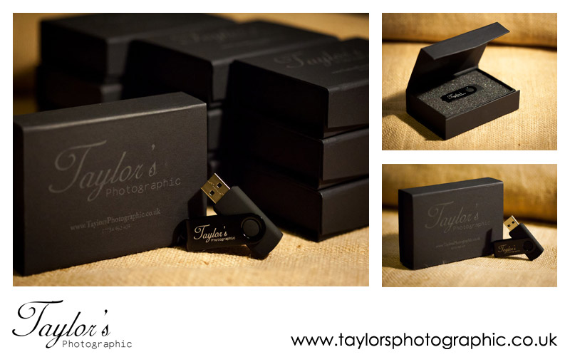 USB2U Memory Sticks and Boxes for Taylors Photographic