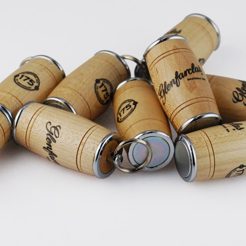 Wooden USB Barrels