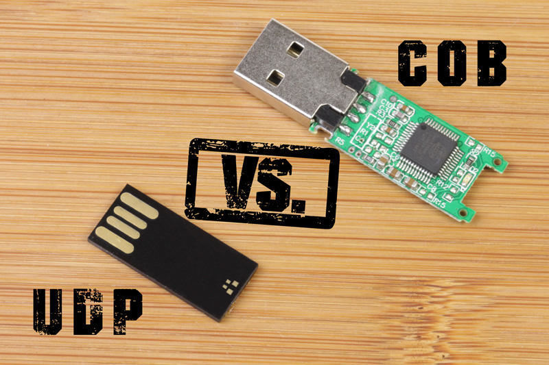 USB Memory Sticks  - COB vs UDP